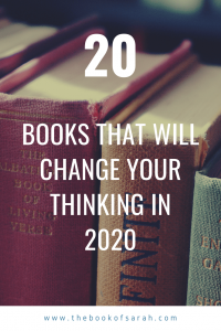 20 books that will change the way you think in 2020