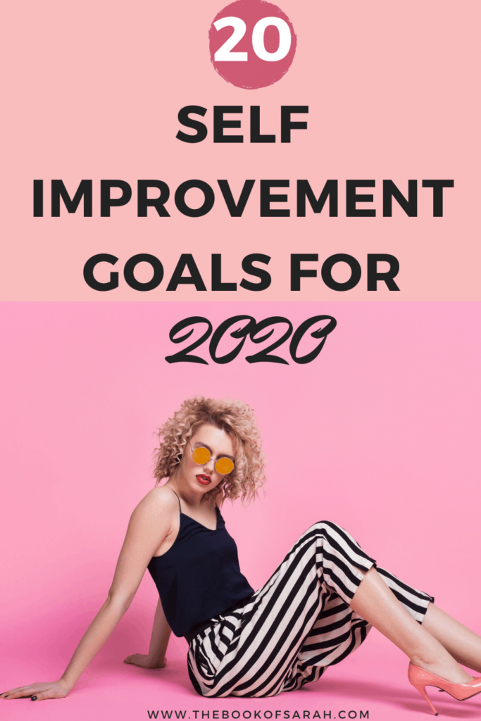 self improvement goals